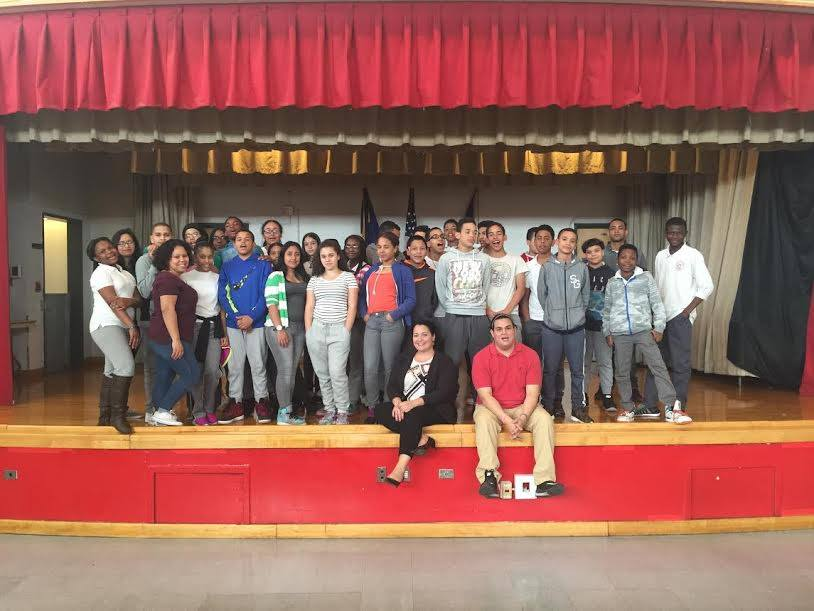 CHCF SONYC Youth Participated in HISPA Role Models Event