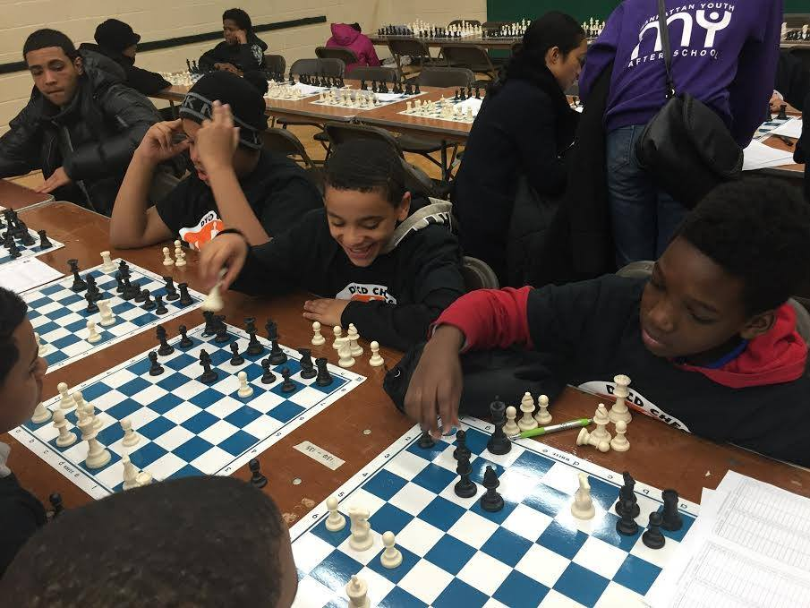 CHCF SONYC Program Attends 2nd Annual DYCD Chess Masters Tournament