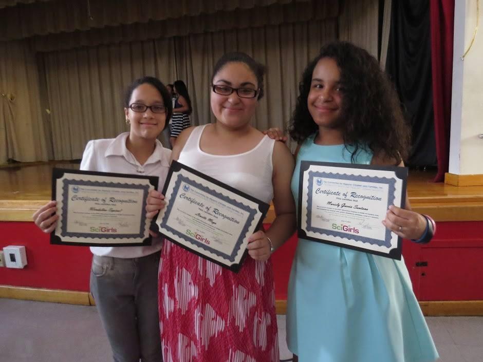 SciGirls Award Ceremony