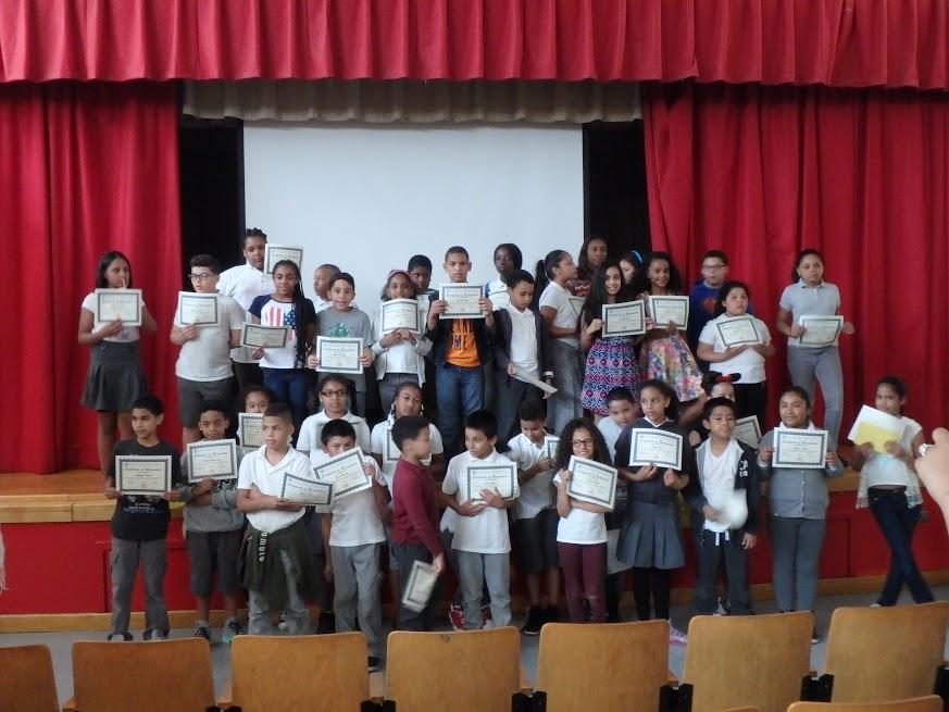 PS / MS 279 CHISPA Awards Ceremony