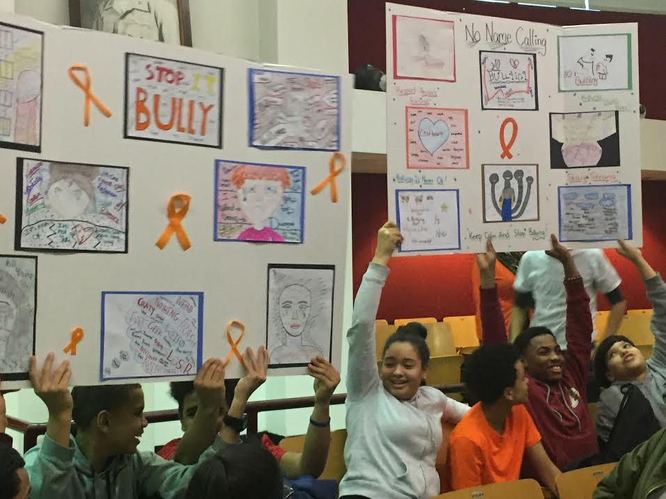 CHCF's After School Students Celebrated Kindness during No Name Calling Week.